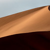 Light and shade combine to form interesting lines in a sand dune in the Sossusvlei area of Namibia