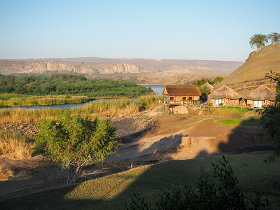 Orange River camp, Namibia