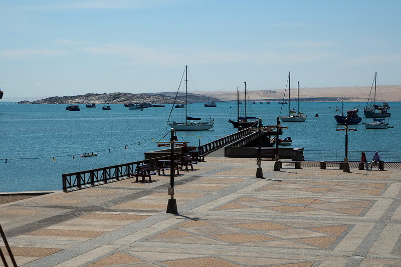 The port at Luderitz