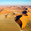 The Dunes of the Namib Desert, from the air