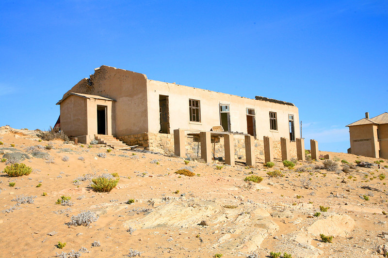 Image taken at the Ghost town of Kolmannskuppe, Namibia. Originally built to support the Diamond Mines in the Area.