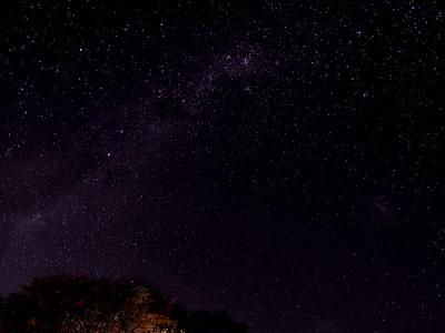 Night sky in Namibia