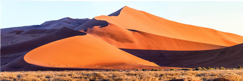 The world's largest sand dunes at sossusvlei