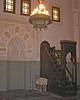 Mihrab and minbar, Niamey mosque