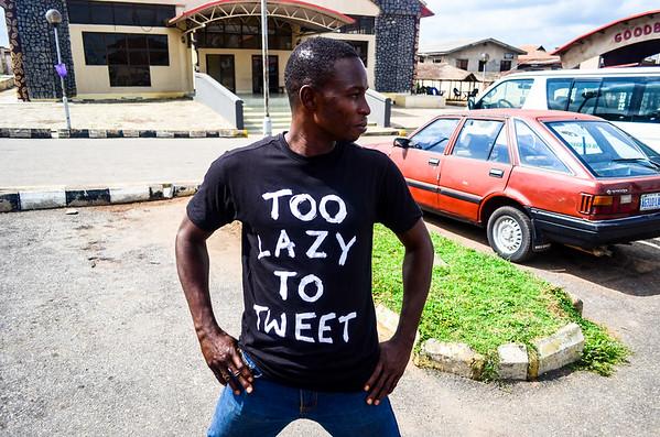 Too lazy to tweet