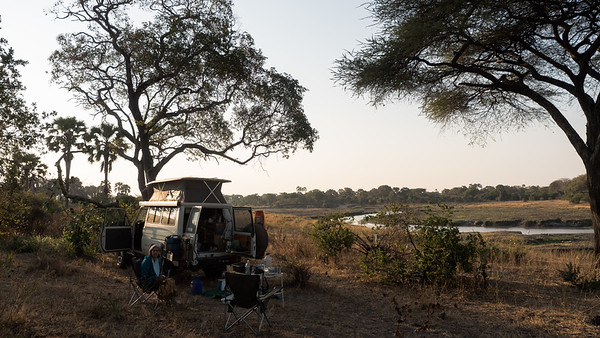 Wild camp in Katavi NP, Tanzania