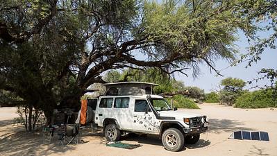 Campsite at Puros community camp