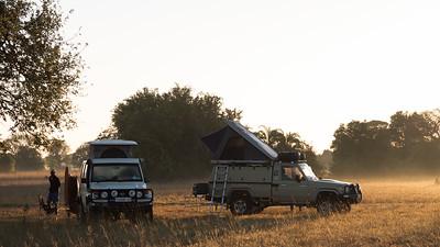 Camp in Bangweulu