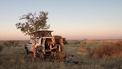 Magadikgadi camp
