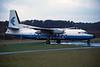 """TN-ABZ Fokker F-27-600 Friendship 'Lina Congo"""" c/n 10446 Woensdrecht/EHWO 30-11-96 (35mm slide)"""