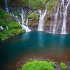 Waterfall - Cascade de Grand Galet, S. Reunion Is.