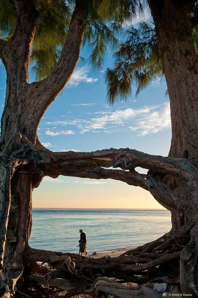 Ermitage Beach - Sunset, St Gilles