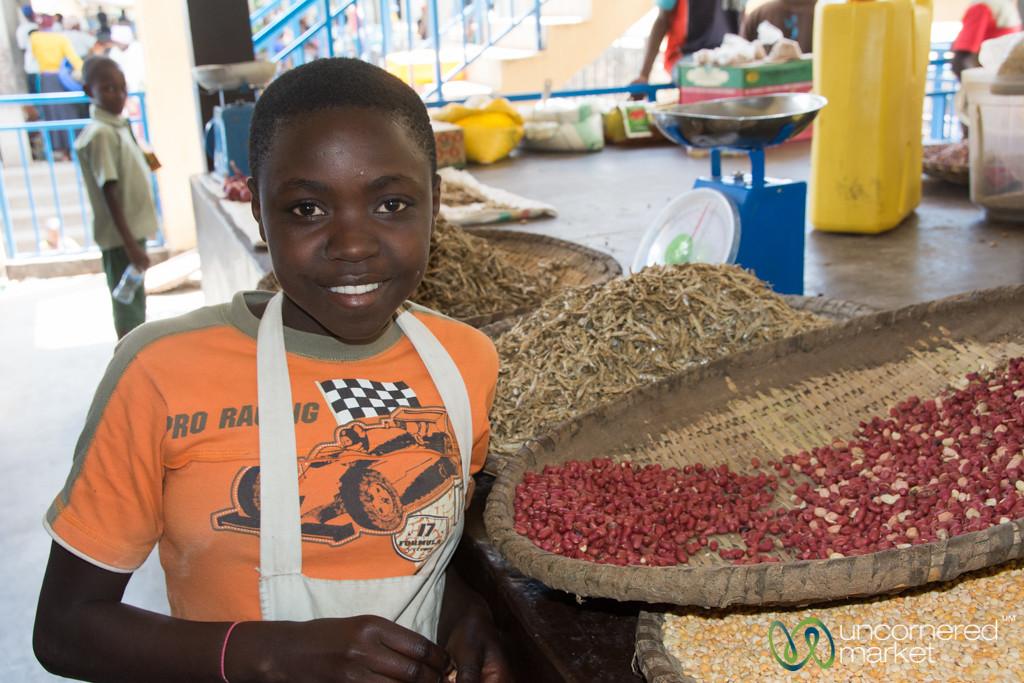 Young Vendor, Kibuye Market - Rwanda