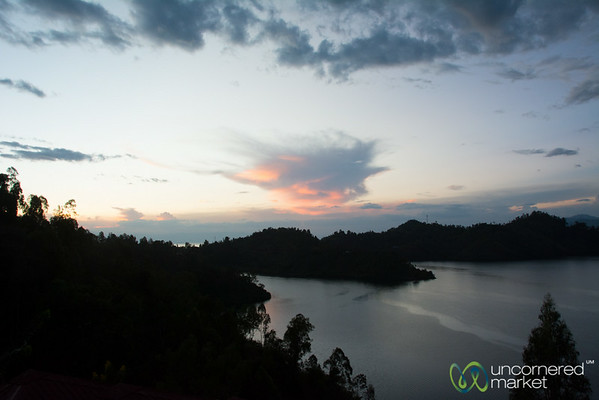 Sunset and Clouds, Lake Kivu - Kibuye, Rwanda