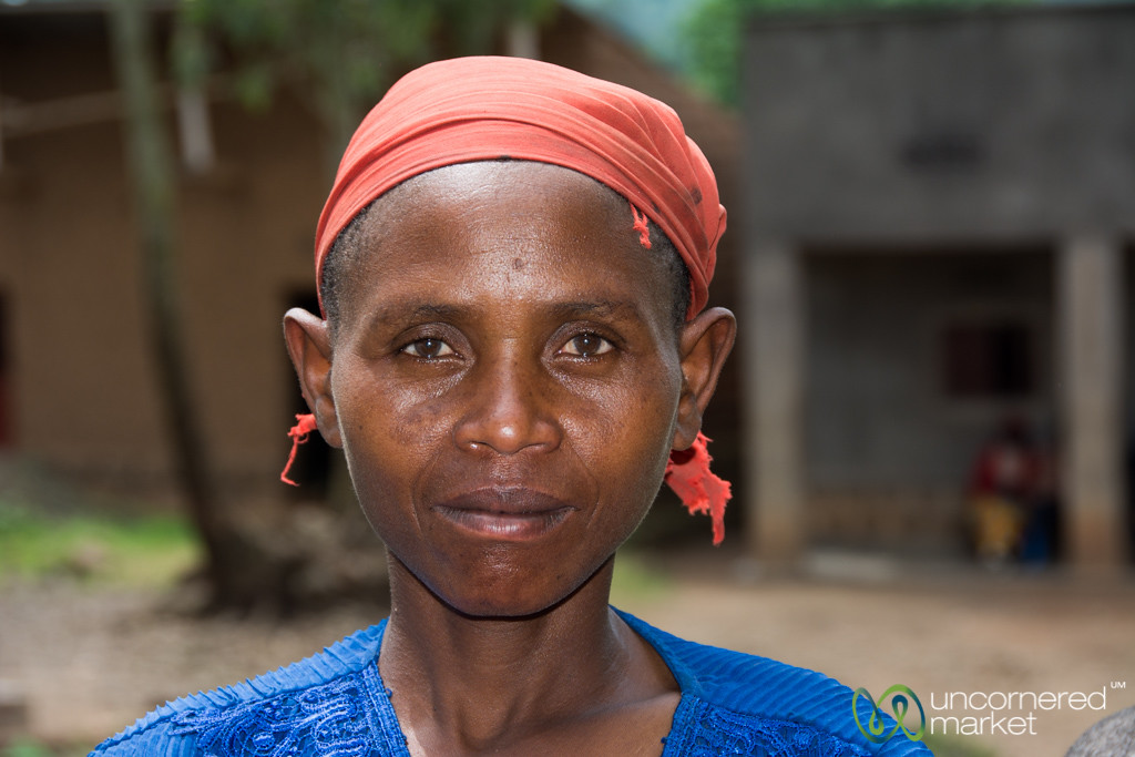Mother Trying Not to Smile - Rwanda