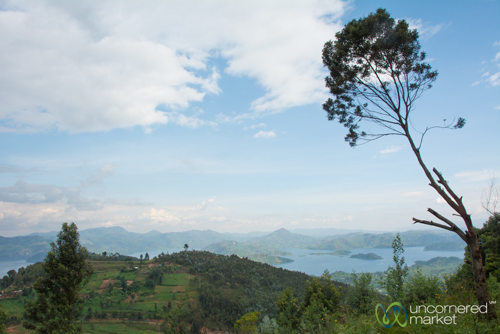 Twin Lakes (Lake Ruhondo and Lake Burera) -  Musanze, Rwanda