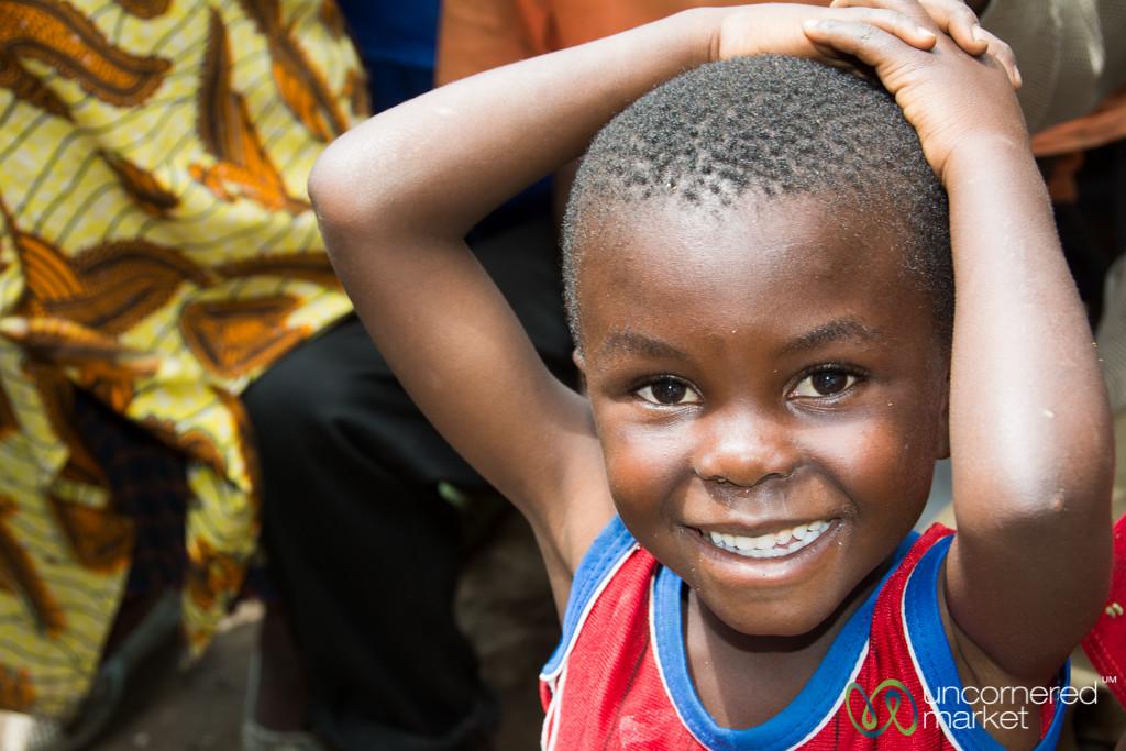Rwandan Boy, Smiles All Around - Musanze