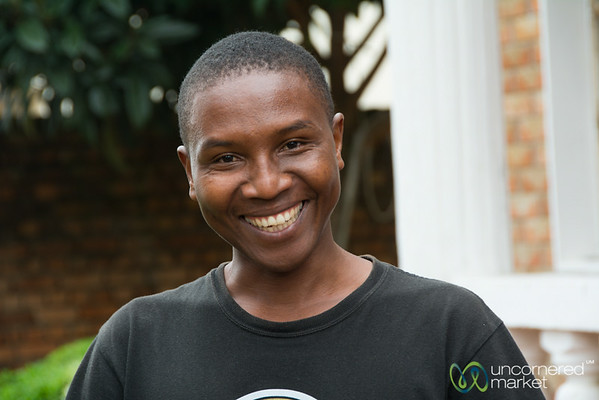 Muhoozi, Our Host at Amahoro Guesthouse - Musanze, Rwanda
