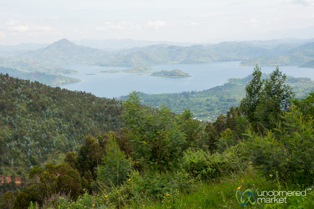Looking Out Over Lake Ruhondo - Musanze, Rwanda