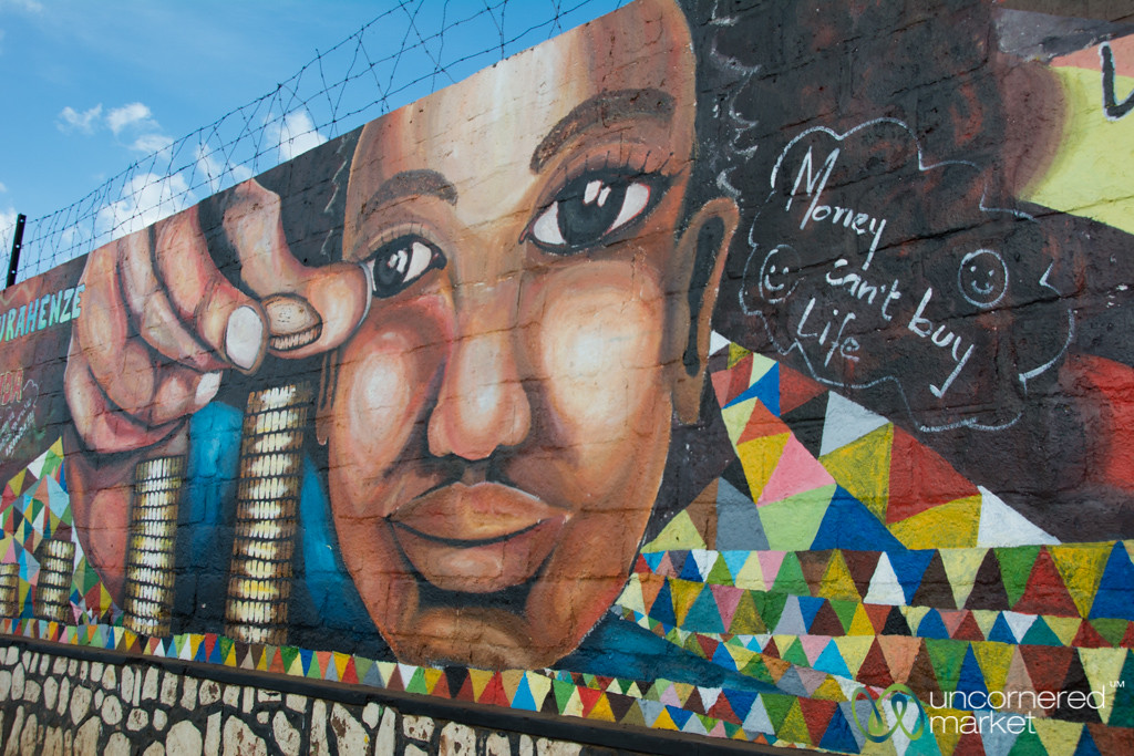 Kigali Street Art Against AIDS - Rwanda
