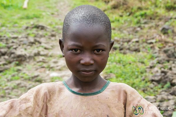 Rwandan Girl - Musanze, Rwanda
