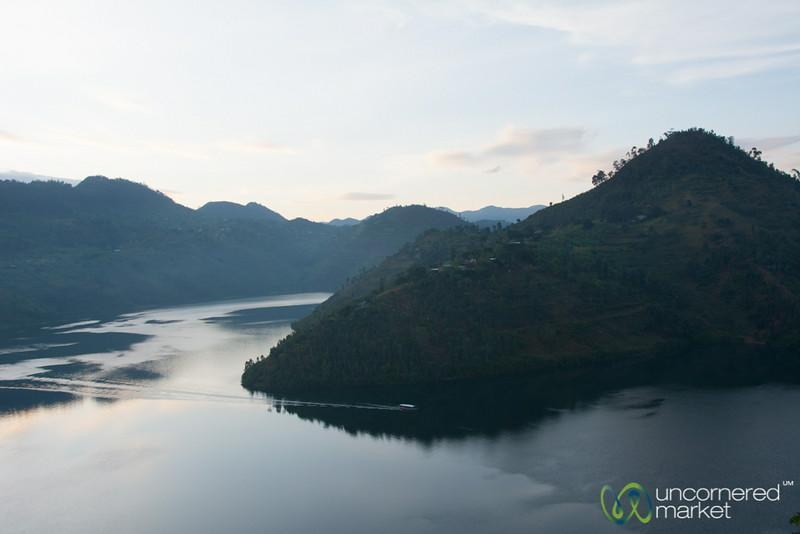 Late Afternoon Boat Crossing - Lake Kivu, Rwanda