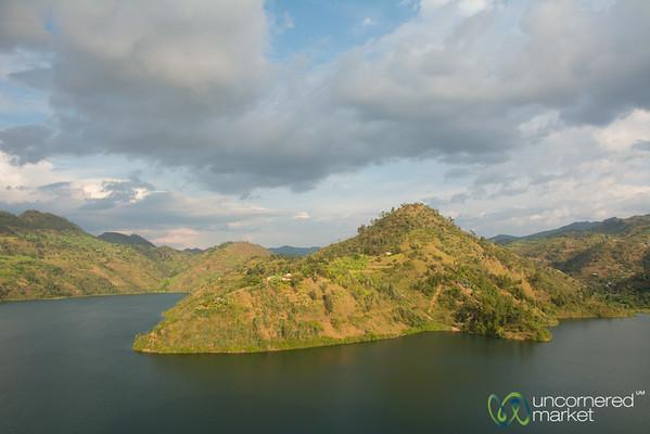 Lake Kivu Clouds and Light - Kibuye, Rwanda