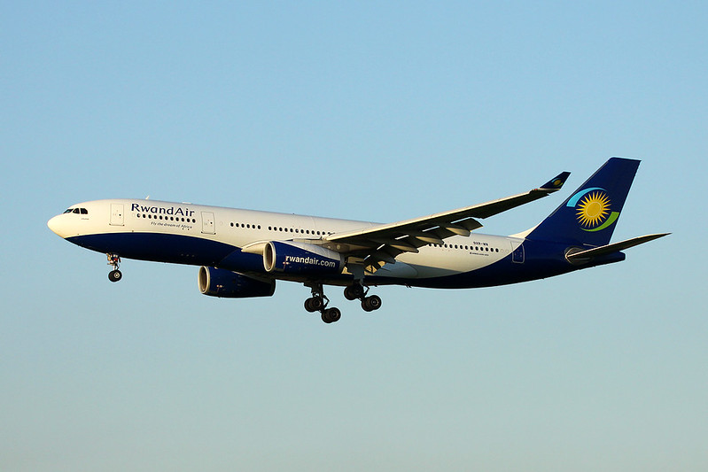 "9XR-WN Airbus A330-243 ""Rwandair"" c/n 1741 Brussels/EBBR/BRU 07-11-17"