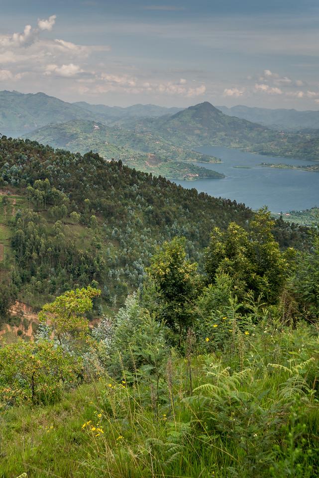 Twin Lakes near Ruhengheri, Rwanda