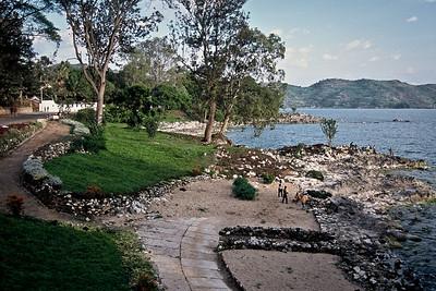Lake Kivu at Gisenyi...