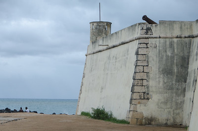 Fort Sao Sebastiao...no photos allowed inside...