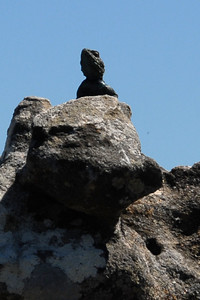 King of the rock..