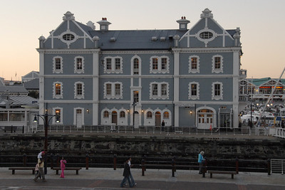 The V&A Waterfront...