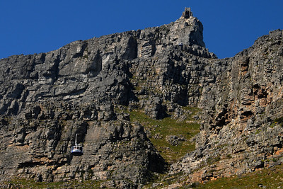 A perfect day to go up Table Mountain...