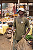 Man, Damar market, Matadi, DRC (Congo-Kinshasa)