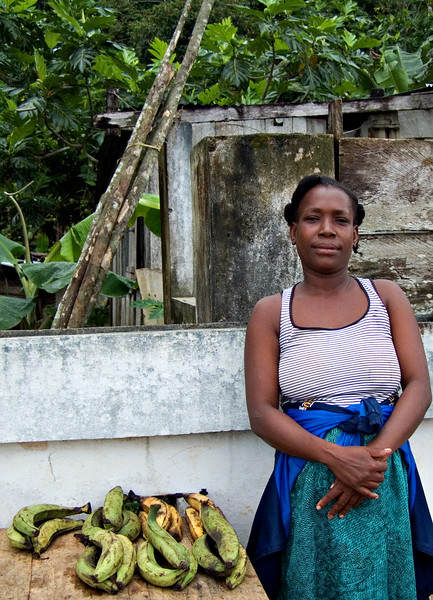 Woman, Santo Antonio, Principe