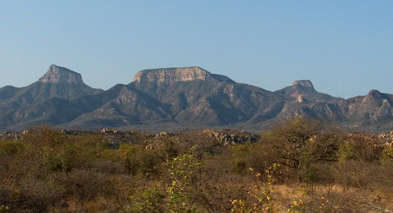 Between Namibe and Lubango, Angola