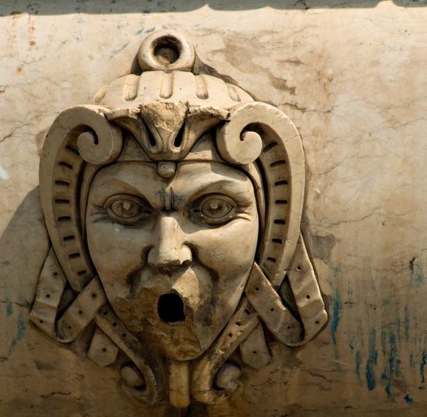 Fountain detail, Benguela, Angola