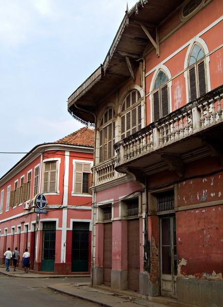 Sao Tome town
