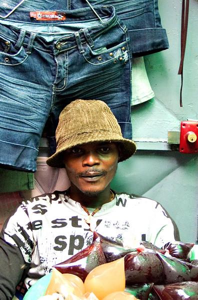 Juice seller, Poto-Poto, Brazzaville
