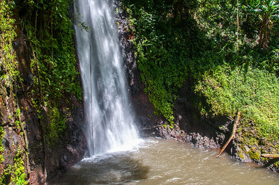 St. Nicholas Waterfall in Sao Tome, Sao Tome and Principe