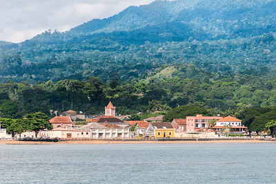 The town of Sao Tome in Sao Tome and Principe