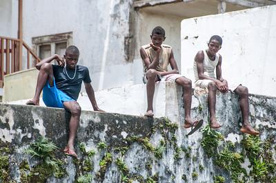 Children in Sao Tome, Sao Tome and Principe