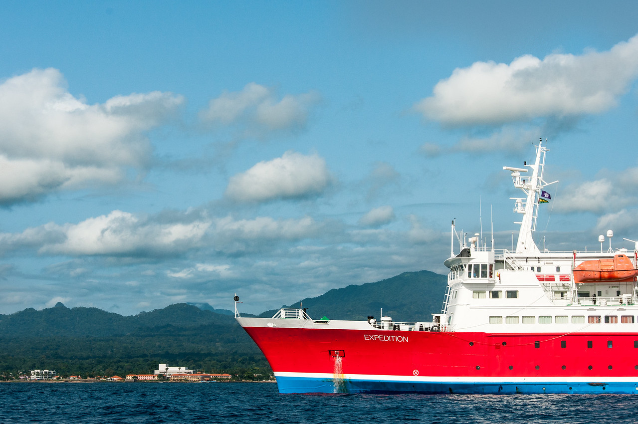 M/S Expedition in Sao Tome, Sao Tome and Principe