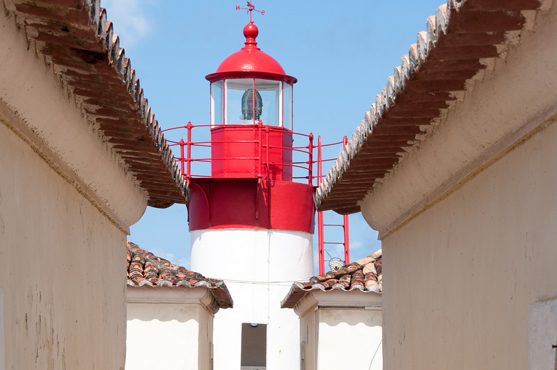 Saint Sebastian lighthouse in Sao Tome, Sao Tome and Principe