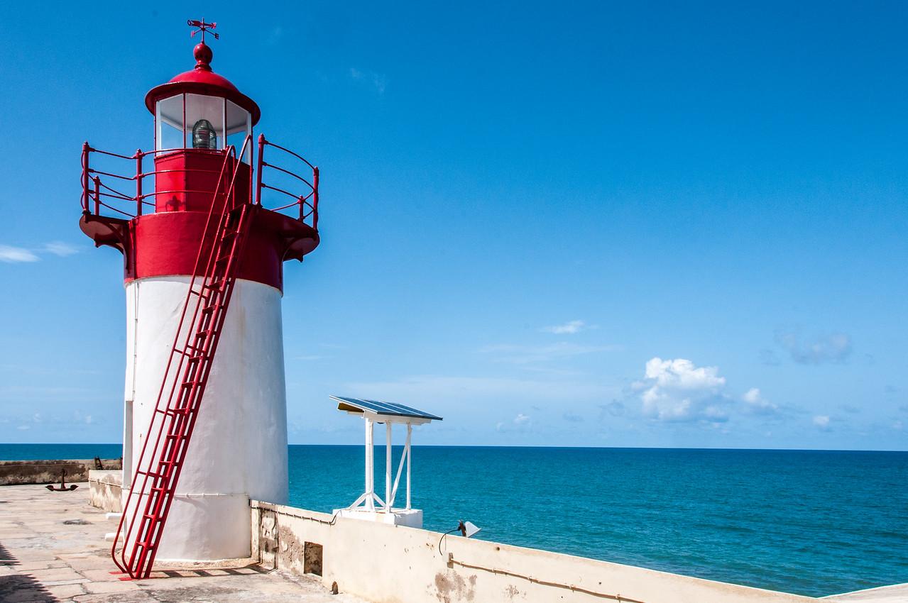 Saint Sebastian lighthouse in Sao Tome, Sao Tome and Principe