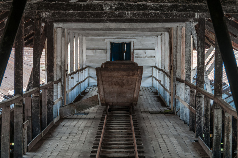 Mining wagon at Sao Tome, Sao Tome and Principe