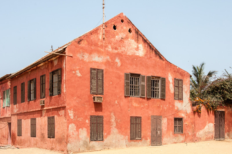 Old building in Dakar, Senegal
