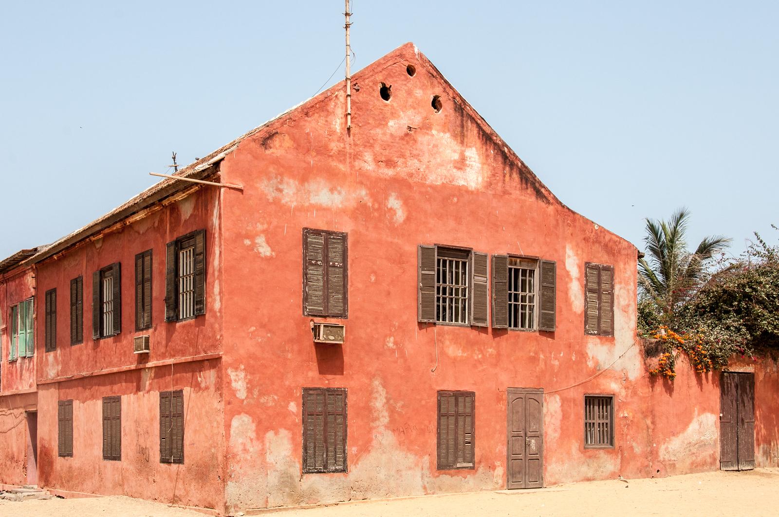 Old building in Dakar, Senegal