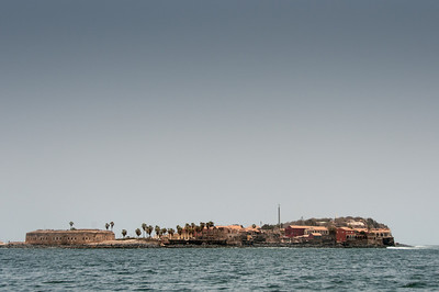 Fort D'Estrees in Goree Island, Dakar, Senegal